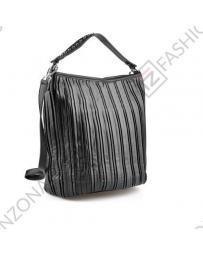 Черна дамска ежедневна чанта Royal