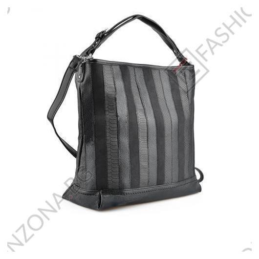 Черна дамска ежедневна чанта Norah
