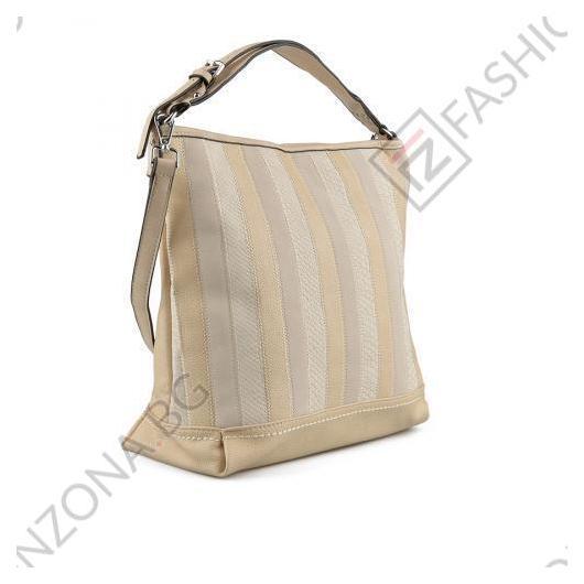 Бежов дамска ежедневна чанта Wanda