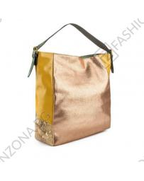 Златиста дамска ежедневна чанта Fernanda в online магазин Fashionzona