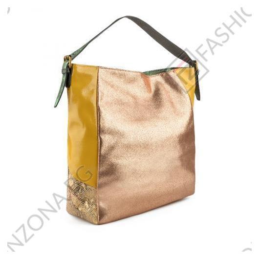 Златиста дамска ежедневна чанта Fernanda