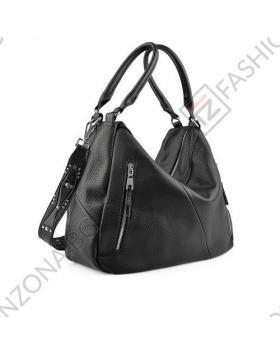 Черна дамска ежедневна чанта Devora в online магазин Fashionzona