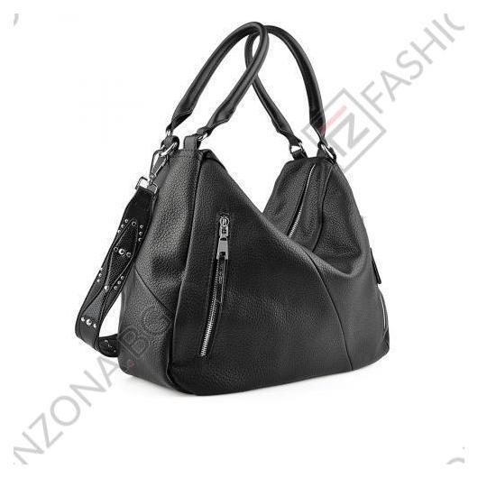 Черна дамска ежедневна чанта Devora