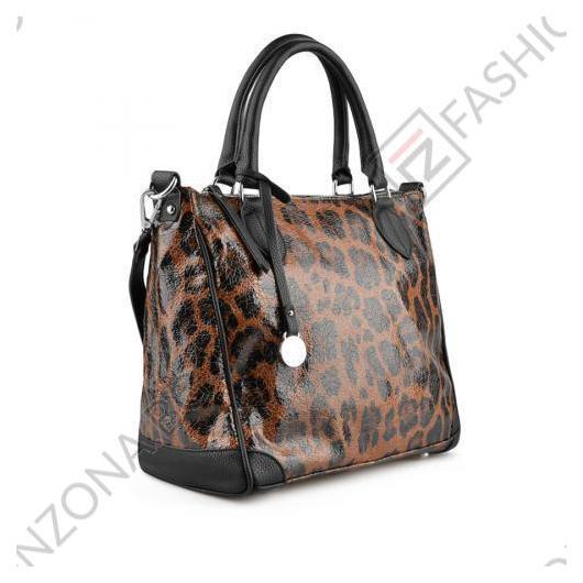 Кафява дамска ежедневна чанта Cathy