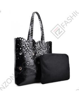 Черна дамска ежедневна чанта Katharine в online магазин Fashionzona