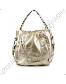 Златиста дамска ежедневна чанта Collins в online магазин Fashionzona