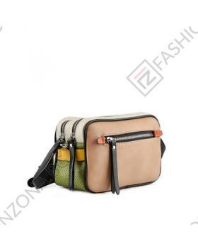 Бежова дамска ежедневна чанта Althea в online магазин Fashionzona