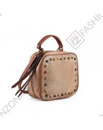 Кафява дамска ежедневна чанта Ronda