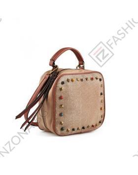 Кафява дамска ежедневна чанта Ronda в online магазин Fashionzona