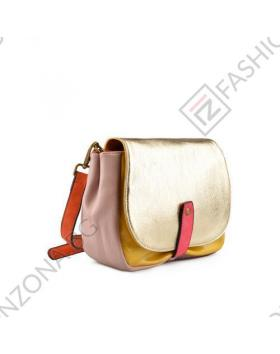 Златиста дамска ежедневна чанта Enid в online магазин Fashionzona