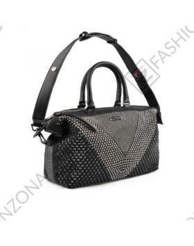 Черна дамска ежедневна чанта Kai в online магазин Fashionzona