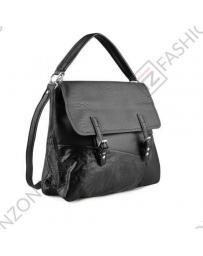 Черна дамска ежедневна чанта Lois