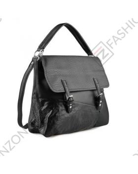 Черна дамска ежедневна чанта Lois в online магазин Fashionzona