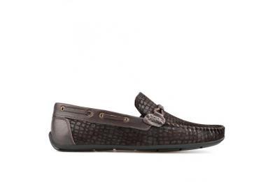 Тъмно кафяви мъжки ежедневни обувки Pablo