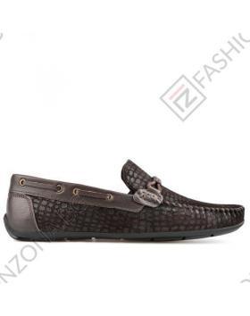 Тъмно кафяви мъжки ежедневни обувки Pablo в online магазин Fashionzona