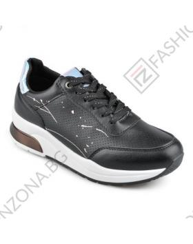 Черни дамски ежедневни обувки Georgina в online магазин Fashionzona