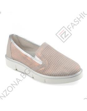 Бронзови дамски ежедневни обувки Melisa в online магазин Fashionzona