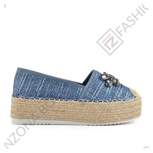 Сини дамски ежедневни обувки Earnestine