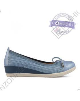 Сини дамски ежедневни обувки Jerri в online магазин Fashionzona