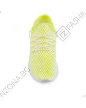 Жълти дамски ежедневни обувки Mariam в online магазин Fashionzona
