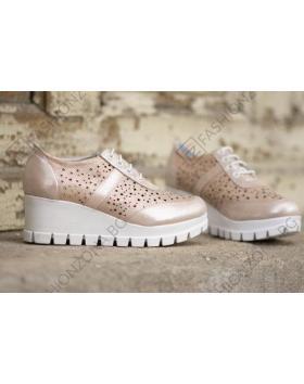 Розови дамски ежедневни обувки Imani в online магазин Fashionzona