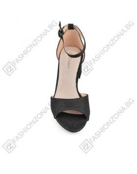 Черни дамски елегантни сандали Tammi в online магазин Fashionzona