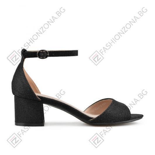 Черни дамски елегантни сандали Tammi
