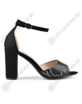 Черни дамски елегантни сандали Lydia в online магазин Fashionzona