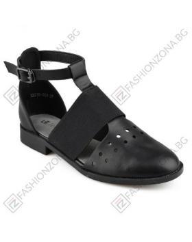 Черни дамски ежедневни сандали в online магазин Fashionzona
