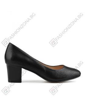Елегантни черни дамски обувки Earline в online магазин Fashionzona