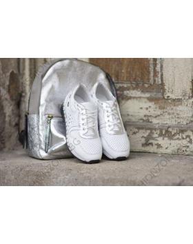 Бели дамски ежедневни обувки Deann в online магазин Fashionzona