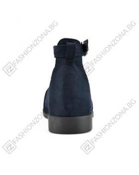 Сини дамски ежедневни сандали в online магазин Fashionzona