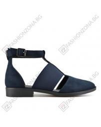 Сини дамски ежедневни сандали Geraldine в online магазин Fashionzona