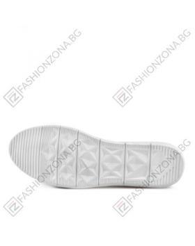 Бели дамски ежедневни сандали Monserrat в online магазин Fashionzona