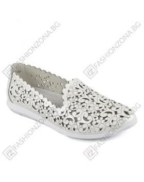 Бели дамски ежедневни обувки Amirah в online магазин Fashionzona