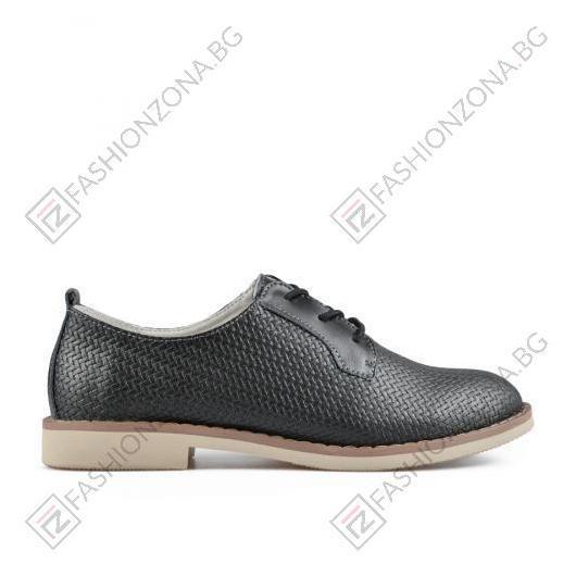 Черни дамски ежедневни обувки Stevie