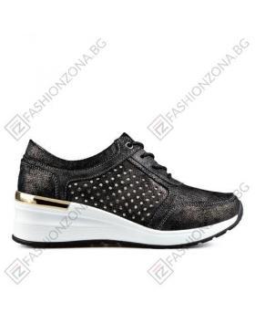 Черни дамски ежедневни обувки Avis в online магазин Fashionzona