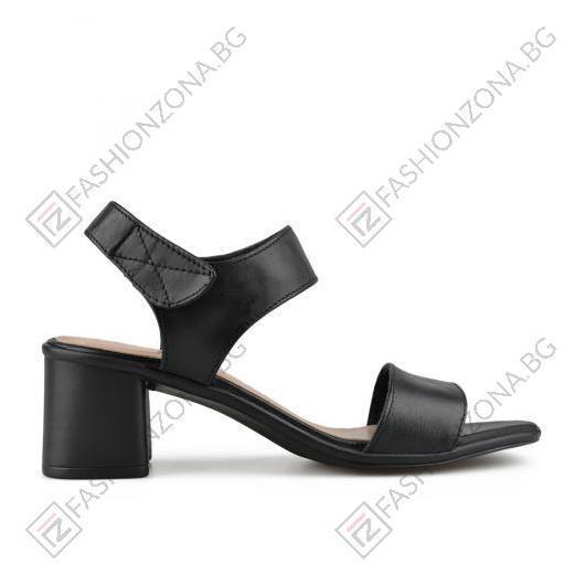 Черни дамски елегантни сандали Rosanne