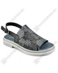 Черни дамски ежедневни сандали Keyla в online магазин Fashionzona