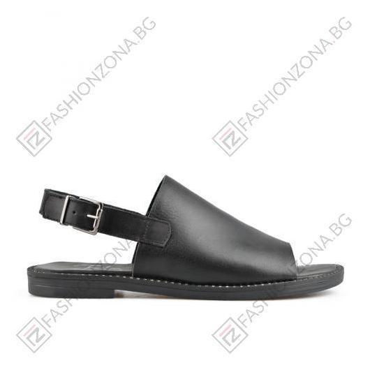 Черни дамски ежедневни сандали Bethany