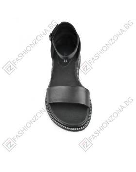 Черни дамски ежедневни сандали Samantha в online магазин Fashionzona