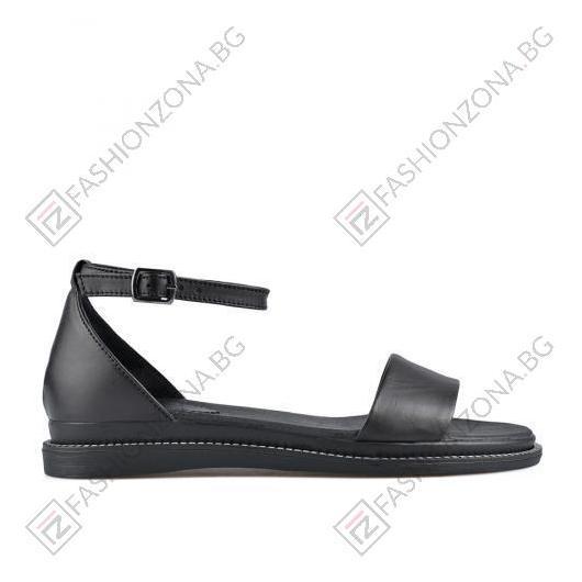 Черни дамски ежедневни сандали Samantha