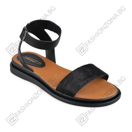 Черни дамски ежедневни сандали Marquita