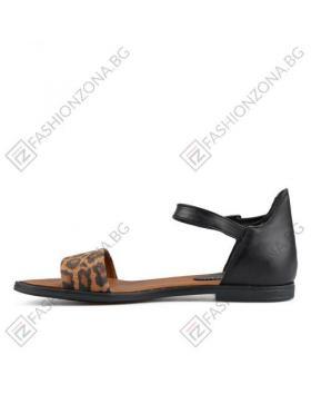 Черни дамски ежедневни сандали Alaia в online магазин Fashionzona