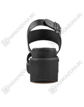 Черни дамски ежедневни сандали Jodie в online магазин Fashionzona