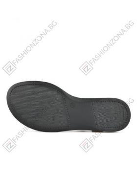 Черни дамски ежедневни сандали Robin в online магазин Fashionzona