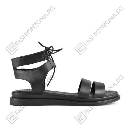 Черни дамски ежедневни сандали Robin