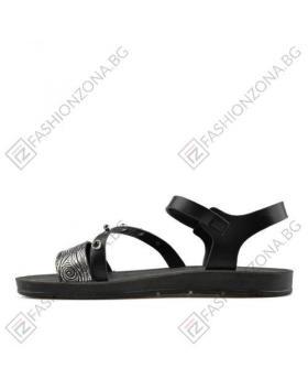 Черни дамски ежедневни сандали Elliana в online магазин Fashionzona