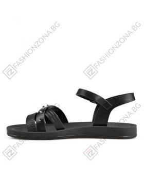Черни дамски ежедневни сандали Tanisha в online магазин Fashionzona