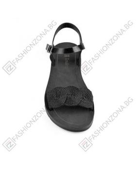 Черни дамски ежедневни сандали Vicky в online магазин Fashionzona